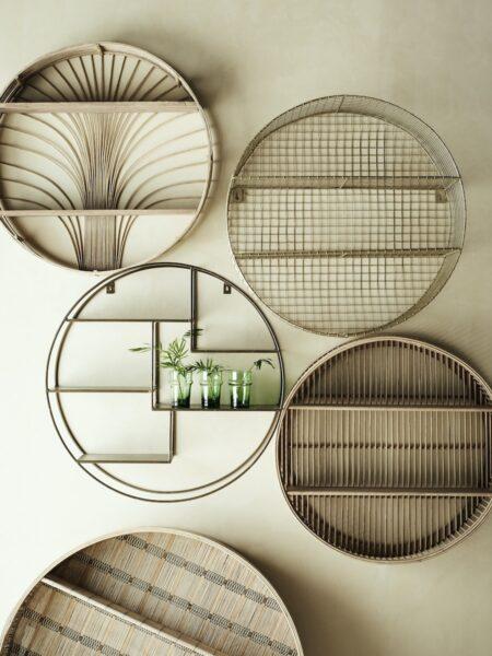 Illustration 2 Etagere Ronde en Rotin