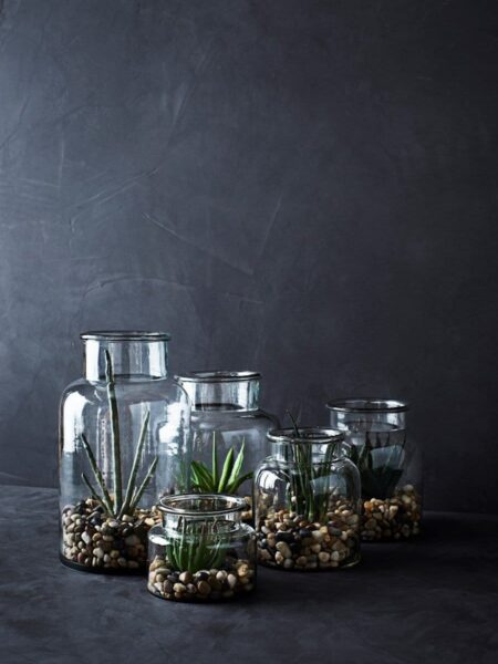 Illustration Vase en Verre