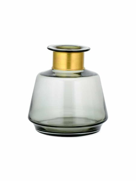 Vase en Verre Miza Fume