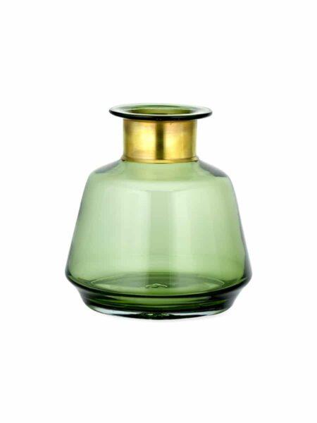 Vase en Verre Miza Vert