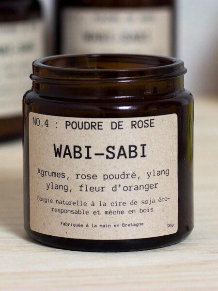 Bougie NO.4 Poudre de Rose 90g